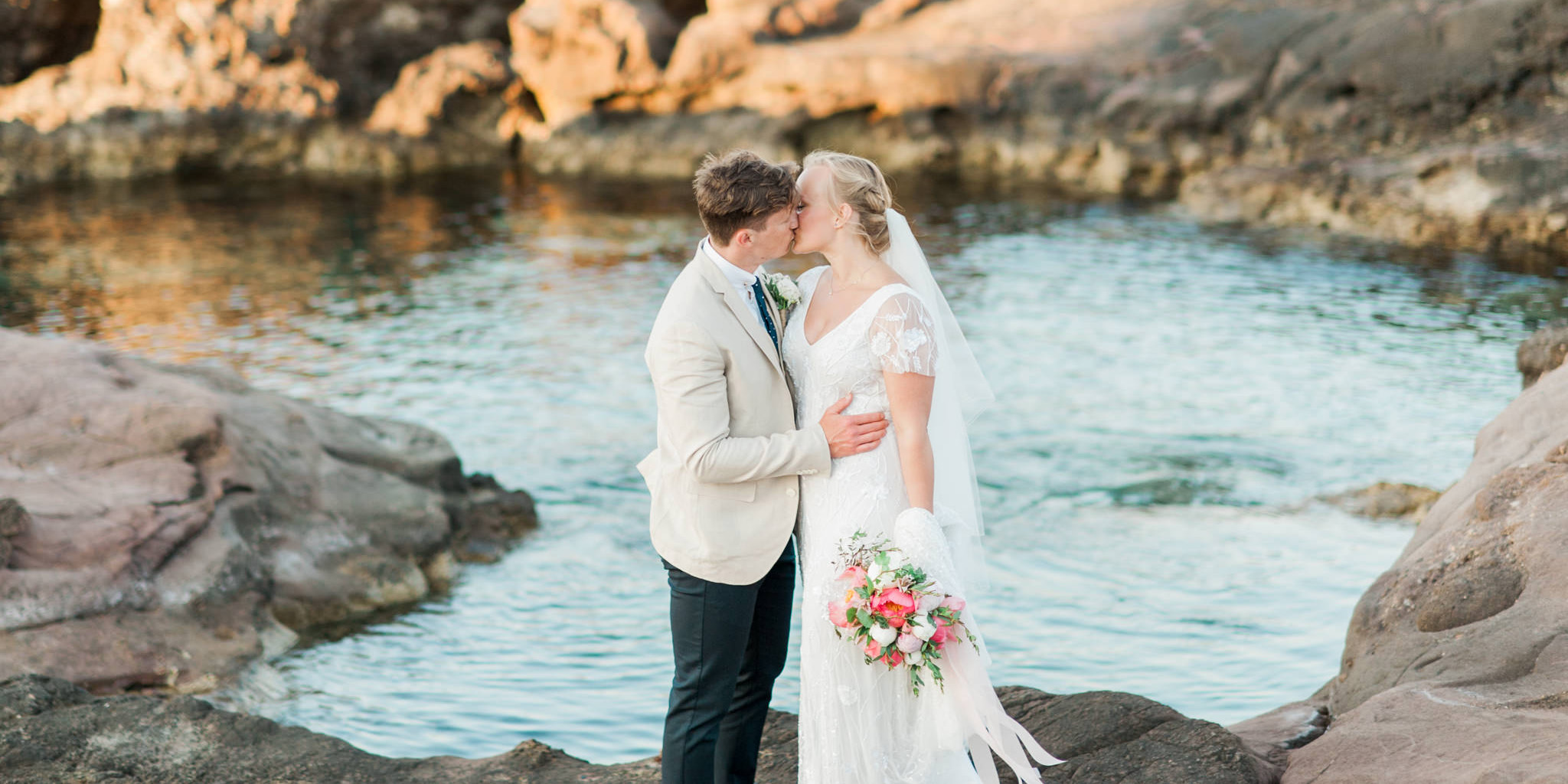 You may kiss the bride by the sea