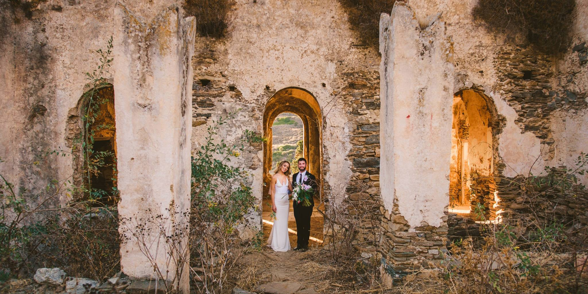 Beautiful vintage wedding in Naxos