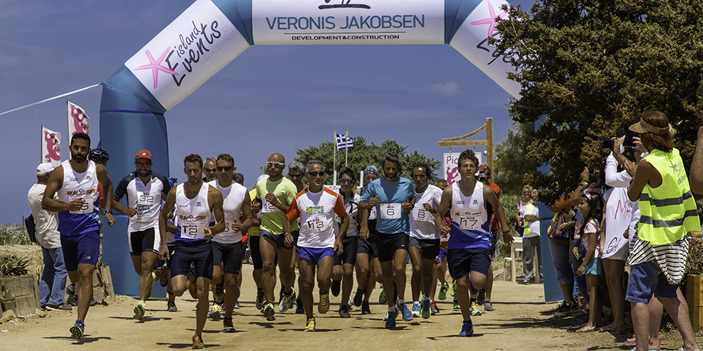 Picasso Adult Duathlon in Plaka beach