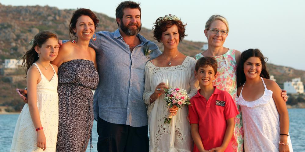 Marty and Julie: A Sunset Vow Renewal  on Plaka Beach