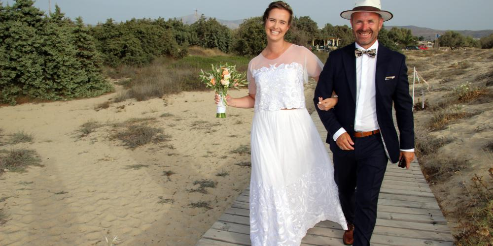Amund & Stine: Spectacular Cliff Side Wedding and Celebration on the Beach