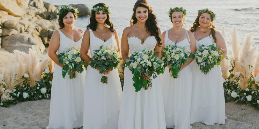 Justin & Semira: A Middle Eastern Wedding in Naxos Agia Anna Bay
